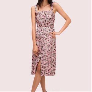 NWOT KATE SPADE panthera jacquard midi dress